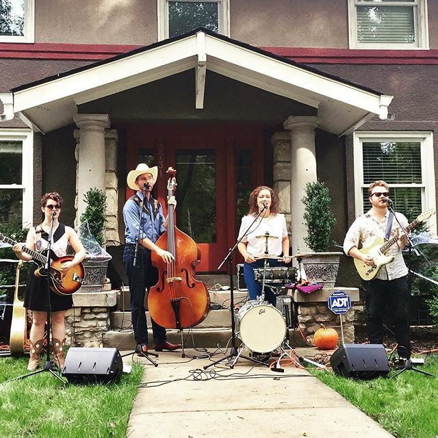 Cowtown Country Club Playing at PorchfestKC